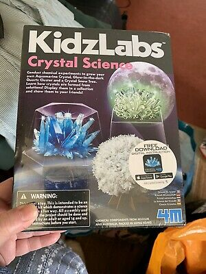 Kidz Labs Crystal Science GROW YOUR OWN CRYSTAL