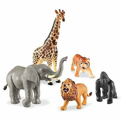 Learning Resources Kids Jumbo Jungle Realistic Detail Animal