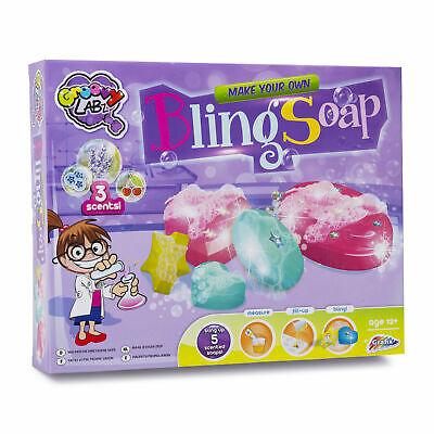 Make Your Own Soap Childrens Kids Kit Scent Glitter Creative