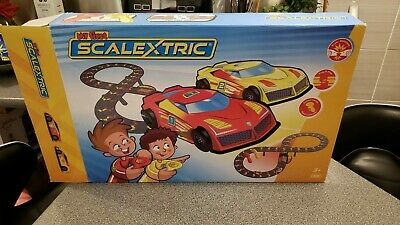 My First Scalextric (Micro Scalextric) Set UK Plug (MISSING