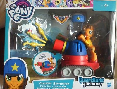 My Little Pony Guardians of Harmony - Cheese Sandwich, Party