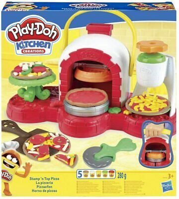 Play-Doh Kitchen Creations Stamp 'N' Top Pizza Oven Kids Set