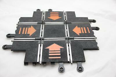 SCALEXTRIC CLASSIC TRACK - PT83 - CROSSROADS - ORANGE ARROWS