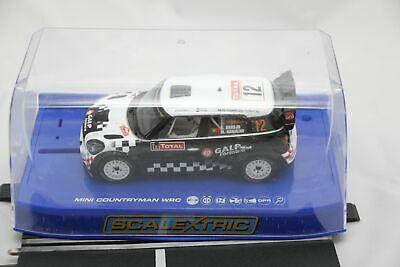SCALEXTRIC DPR CAR - C - MINI COUNTRYMAN WRC - RALLY -