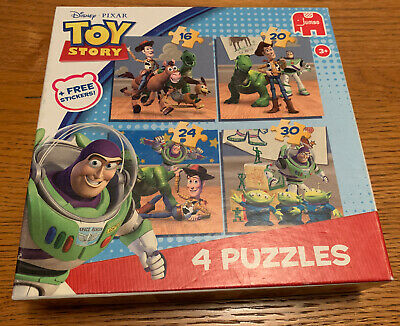 TOY STORY Kids JIGSAW Puzzles 4-In-A-Box