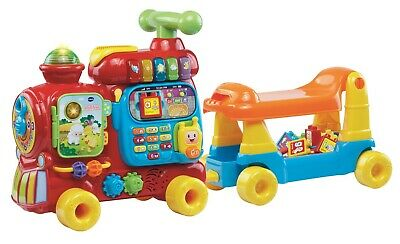 VTech Baby Push & Ride Alphabet Train Children Play Walker