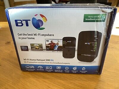 BT Wi-Fi Home Hotspot 500 Kit, Complete, Working