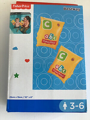 Bestway Fisher Price ABC Armbands Ages 3-6 Years **BRAND