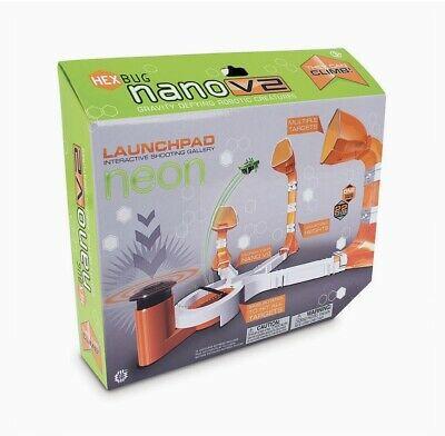 HEXBUG Nano V2 NEON LAUNCHPAD Interactive Shooting Gallery