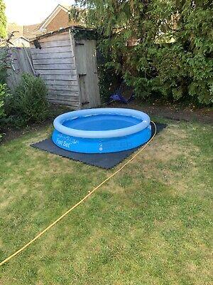 Bestway 6ft Fast Set Swimming Pool. Slow Puncture In Rim
