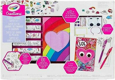 Crayola Creations  Super Diary with Sticker and Gemme