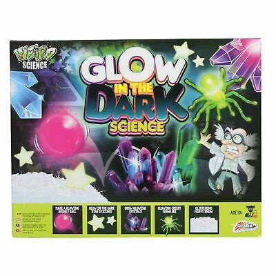 Glow In the Dark Science Kit Kids Educational Learning Set