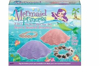 Mermaid Princess 2 In 1 Dig Out Make Your Own Pearl &
