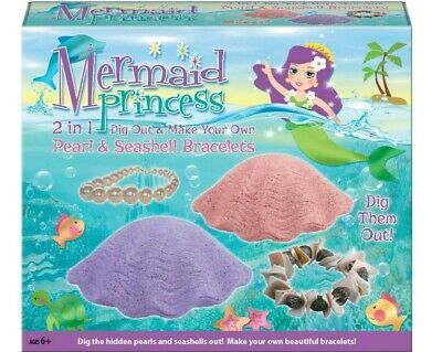 Mermaid Princess Dig Out And Make Your Own Pearl & Seashell