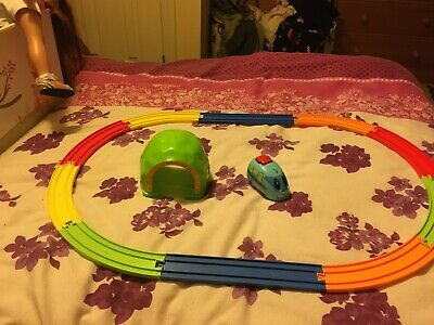 Tomy My First Train Set Pullback Train With Moving Eyes &