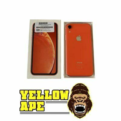 Apple iPhone XR 64GB Coral Unlocked Grade A Original Box