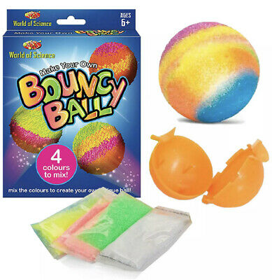 Make Your Own Bouncy Ball Kids Art Craft Set Childrens Party