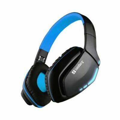 NEW! Sandberg Blue Storm Bluetooth Headset Microphone 40Mm