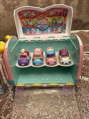 Shopkins Cutie Cars Rainbow Cake Cupcake Racer Van Play N'