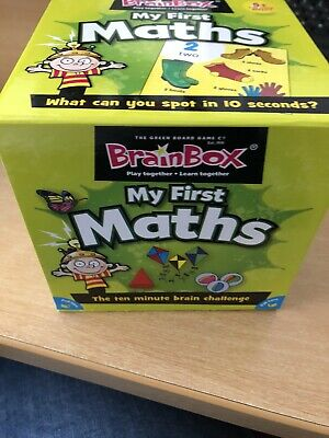 BrainBox My First Maths Memory Game for Kids
