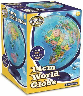 Brainstorm Toys Children's 14cm Desktop World Globe Multi