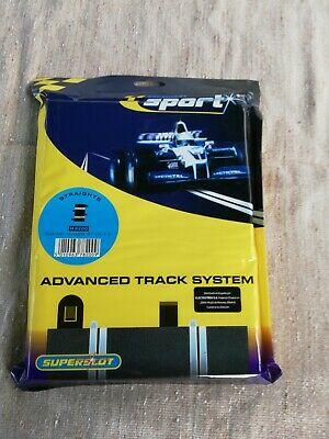C Scalextric Quarter Straight 87mm x2 BNIP Sport Track