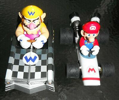 CARRERA GO !!! Mario Kart 1/43 MARIO B - DASHER KART & WARIO