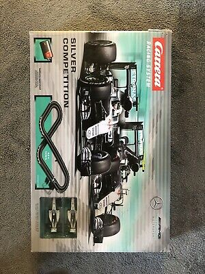 CARRERA RACING SYSTEM SILVER COMPETITION. MERCEDES SET