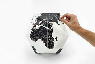 Here - The Personal Globe By Countries Black (Small)