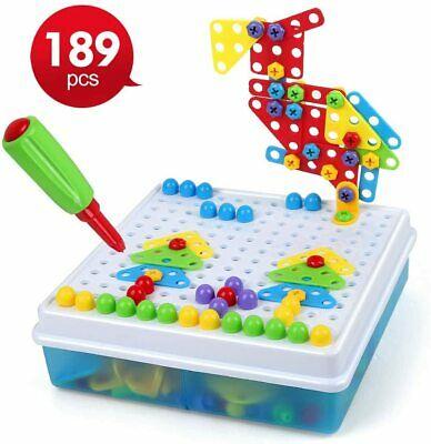 LBLA 189pcs Drill Design Puzzle Creative Toys Construction