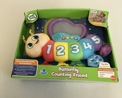 LeapFrog Butterfly Counting Friend Baby Toy, Baby Musical