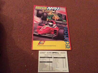 Micro Scalextric- My First Scalextric 1st Edition (leaflet)