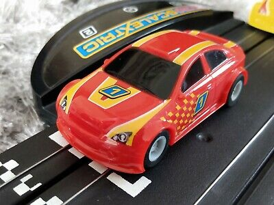 Micro Scalextric Rally Car No.1 NEW BRAIDS & TESTED