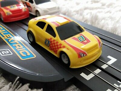 Micro Scalextric Rally Car No.2 NEW BRAIDS & TESTED