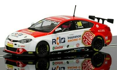 "New Boxed Scalextric 1:32nd Scale MG6 ""Josh Cook"" BTCC 888"