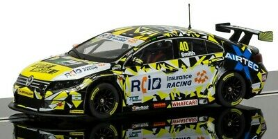 "New Boxed Scalextric 1:32nd Scale V W Passat ""Aron Smith"""