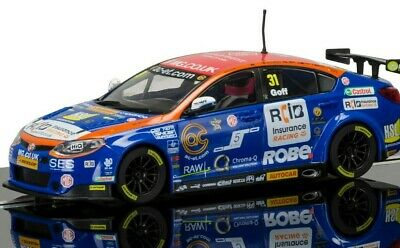 "New Scalextric 1:32nd Scale MG6 ""Jack Goff"" No.31 BTCC"