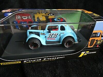 PIONEER (SCALEXTRIC) P063 LEGENDS RACER FORD COUPE #22 BLUE