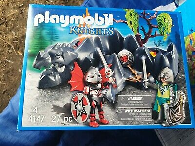Playmobil  Knights & Dragon Rock - Brand New in Box. 27