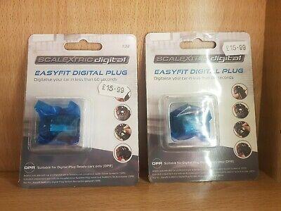 SCALEXTRIC Digital C Chip Car EasyFit Plug Conversion x2