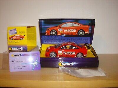 SCALEXTRIC NOS CA OPEL V8 COUPE 'TV TODAY' WRC NO8 CAR
