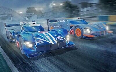 Scalextric ARC PRO 24H Le Mans Set (2 x Ginetta)
