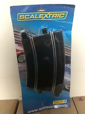 Scalextric - C x Radius 4 Curves 22.5° - New.