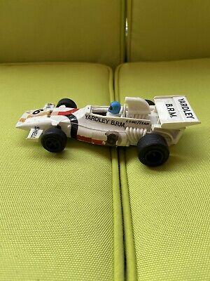 Scalextric Car, vintage, YARDLEY BRM P160, White F1 C