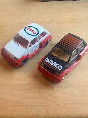Scalextric Cars xs vintage C/C MG METRO 6R4