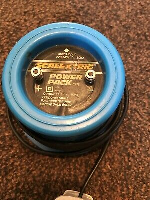 Scalextric Classic Power Pack Supply C919-Blue Round Type