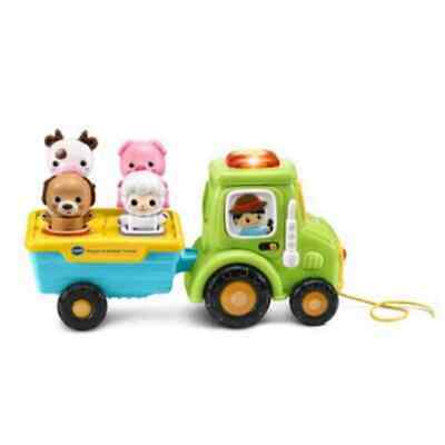 VTech shape and animals tractor educational toy