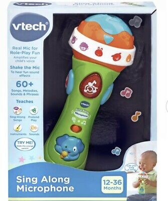 Vtech Sing Along Microphone Brand new Boxed