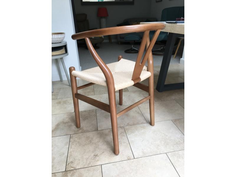 Wishbone Style Dining Chairs. Brand New