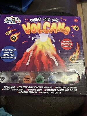 World Of Science Create Your Own Eruption *Volcano Kit* For